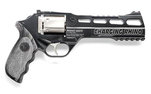"Chiappa Charging Rhino 60DS, 9mm, 6"", 6rd, Laminate Grip"
