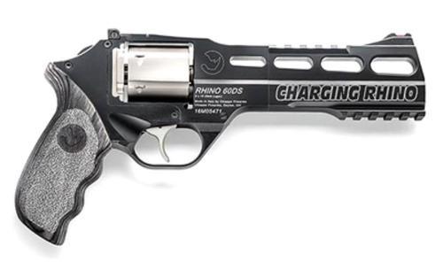 "Chiappa Charging Rhino 60DS, 9mm, 6"", 6rd, Laminate Grip"