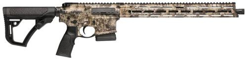 "Daniel Defense DDM4 AMBUSH AR-15 5.56/223, 18"" Threaded Barrel, Krypton Highlander Camo, 10rd Mag"