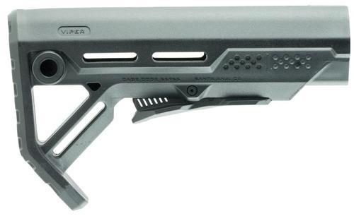 Strike MOD1 Stock, Black, Fits AR Rifles