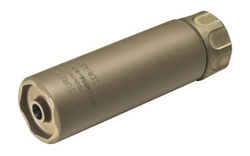 Gen 2 Socom Mini 2 suppressor 5.56mm in Dark Earth