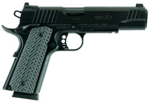 "Remington 1911 R1 Tactical 45 ACP, 5"" Barrel Trijicon Nite Sights 8rd Mag"