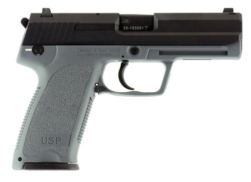 "HK USP45, 45 ACP, SA/DA, 4.41"", 10rd, Gray Frame"