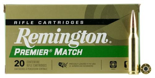 Remington Premier 260 Remington 140gr, Barens Open Tip Match Boat Tail 20rd Box