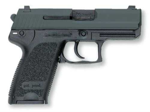 HK USP40 Compact (V1) DA/SA, safety/decocking lever on left, three 10rd magazines and night sights