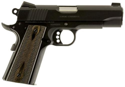"Colt Combat Commander 45 ACP, 4.25"", 8rd, G10 Grips, Blued Carbon Steel"