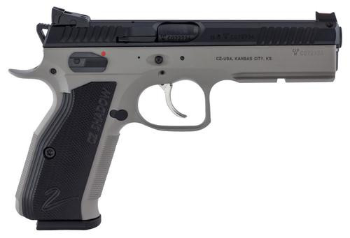 "CZ 75 Shadow 2 9mm 4.89"" Barrel Gray Finish 17rd Mags"