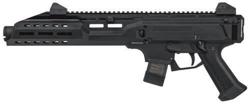 "CZ Scorpion EVO 3 S1 Pistol, 9mm, 7.7"", 10rd, Black, Flashcan"
