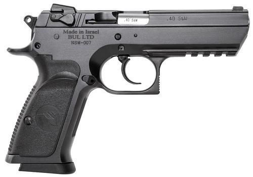 """Magnum Research Baby Desert Eagle 3, .40 S&W, 4.38"""", 10rd, Black Carbon Steel"""