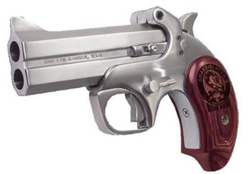 "Bond Arms Snake Slayer IV, .357 Mag / .38 Special, 4.25"", Stainless Steel"