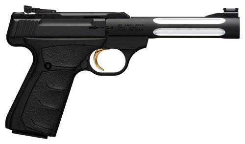 "Browning Buck Mark Lite UFX, 22LR, 5.5"", 10rd, Black Ultragrip FX"