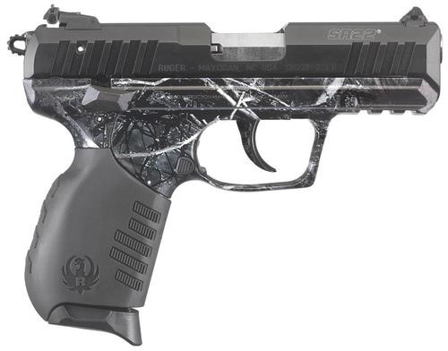 "Ruger SR22 22LR 3.5"" Barrel Moon Shine Harvest Camo 10rd Mag"