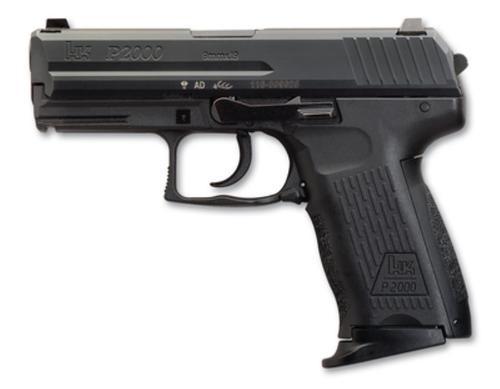 """HK P2000 (V3) 9mm, 3.6"""" Barrel, 10rd, DA/SA"""