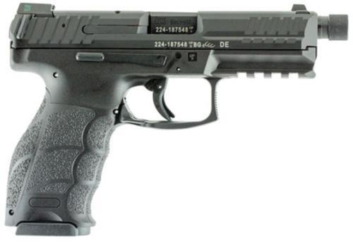 "HK VP9 Tactical, 9mm, 4.7"" Threaded Barrel, 10rd, Night Sights, Black"