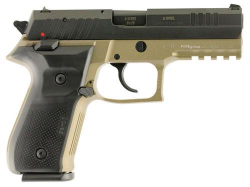 "Arex Rex Zero 9mm, 4.25"", 17rd, 3-Dot Sights, Black Nitride"