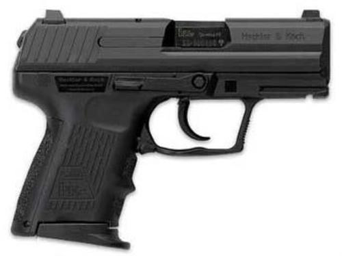 """HK P2000 SK Sub-Compact DAO 9mm, 3.26"""", 10rd, Blued Finish"""