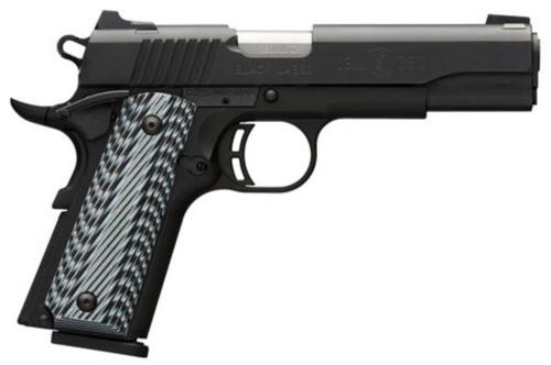 "Browning Black Label Pro 1911, .380 ACP, 4.25"", 8rd, G10 Grips"