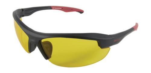 Allen Ruger Core Ballistic Shooting Glasses Black Frame Yellow Lens