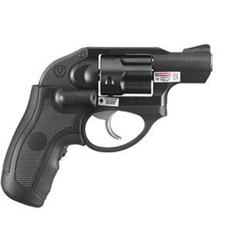 "Ruger LCR Revolver, .38 Special, 1.9"", 5rd, Green Crimson Trace Laser"