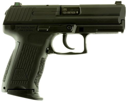 """HK P2000 V2 LEM, .40 S&W, 3.6"""", 10rd, Black"""