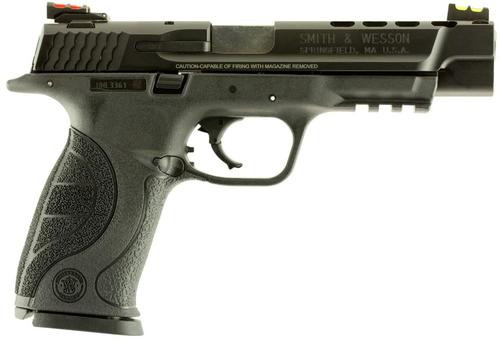 """Smith & Wesson M&P40 .40 S&W, 5"""", 15rd, Ported, Fiber Optic Sights"""
