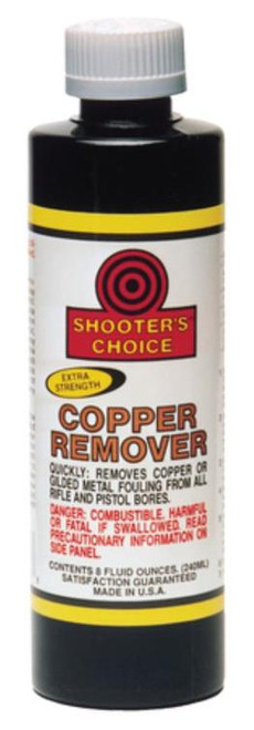 Shooters Choice Copper Remover Cleaner/Degreaser 8oz