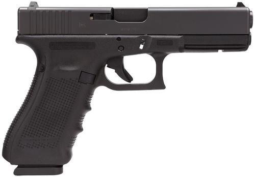 "Glock G17C G4 9mm, 4.48"", 17rd, Fixed Sights, Black"