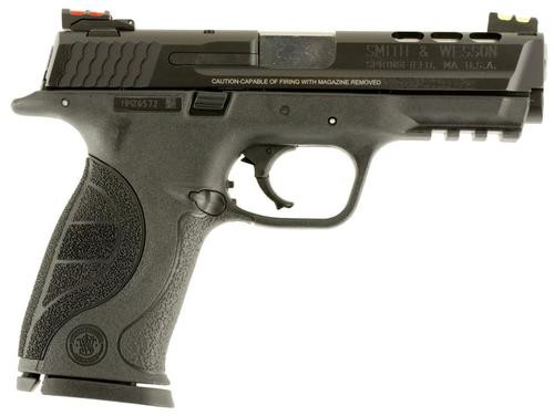 """Smith & Wesson M&P40 .40 S&W, 4.25"""", 15rd, Ported, Fiber Optic Sights"""