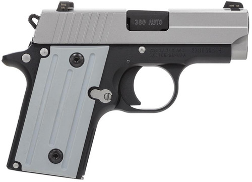 "SIG P238, .380 ACP, 2.7"", 6rd, Two-Tone, Night Sights"