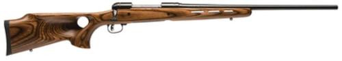Savage Model 11 Hunter Series .243 Winchester 22 Inch Barrel Satin Blue Finish Accutrigger Thumbhole Laminate Stock 4 Round