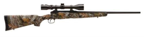 Savage Axis XP 7Mm-08 Remington 22 Inch Barrel Matte Black Synthetic Stock Mossy Oak New Break-Up Camouflage Finish 4 Rounds Includes 3-9X40mm Riflescope Mounted
