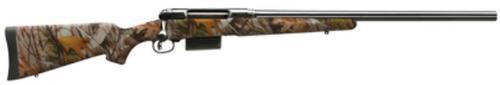 Savage Model 212 Slug Gun 12 Ga 22 Inch Blued Barrel 3 Inch Chamber Synthetic Stock Mossy Oak Infinity Camouflage Finish Accutrigger 2 Round Drop Box Magazine