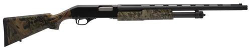 "Stevens 320 Spring Camo, Pump, 12 Ga 3"" Chamber, 22"" Vent Rib Barrel, Black Color, Mossy Oak Obsession Polymer Stock, Right Hand, X-Full Choke, 5Rd, Fiber Optic Front Sight"