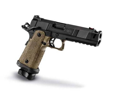 """STI Costa Carry Comp 9MM 4.15"""" DLC Finish, (1) 18rd And (1) 21rd Mags"""