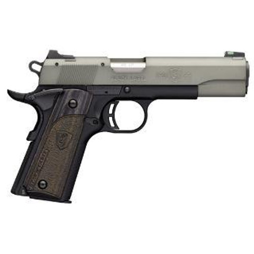 "Browning Black Label Gray Pistol, 22LR, 4.5"", 10rd"