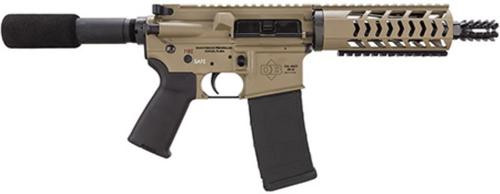 "Diamondback DB-15 AR-15 Pistol, .223/5.56, 10.5"" Barrel. 30rd, Flat Dark Earth"