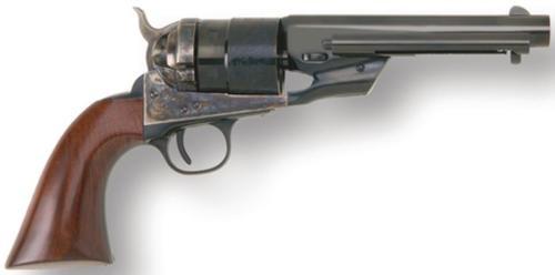"Cimarron Richards Transition Model .45 Long Colt 5.5"" Barrel Standard Blue Finish Walnut Grip"
