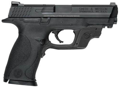 "Smith & Wesson M&P40, 4.25"", 15rd, Crimson Trace Green Laserguard"