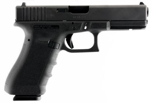 """Glock G17 G3 RTF 9mm, 4.48"""", 17rd, FS, Black"""