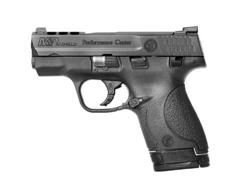 "Smith & Wesson M&P40 Shield Performance Center, .40 S&W, 3.1"" Ported Barrel, 6/7rd, Black"