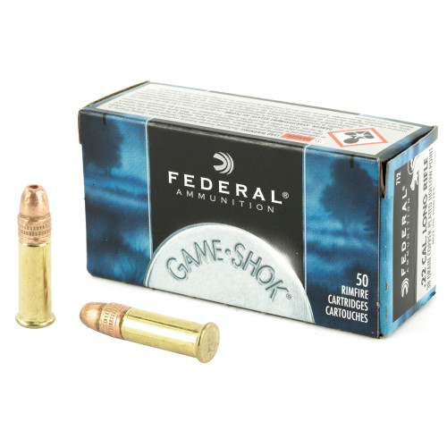 Federal Standard 22LR Copper Plated Hollow Point 38gr, 50rd/Box