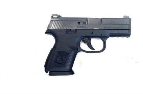 "FN FNS-9C, 9mm, 3.6"", 10rd, No Manual Safety, Black"