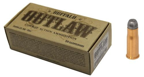 Buffalo Cartridge Outlaw 38-40 Winchester 180gr, Lead Round Nose Flat Point 50rd/Box
