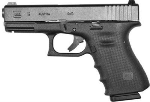 "Glock G19 RTF 9mm, 4"", 10rd, Fixed Sights, Black"