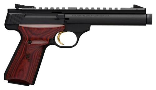 "Browning Buck Mark Field Target, 22LR, 5.5"", 10rd, Cocobolo Grips"