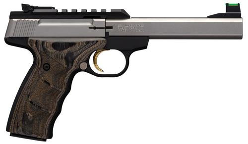 """Browning Buck Mark Plus UDX, 22LR, 5.5"""", 10rd, Stainless Steel"""