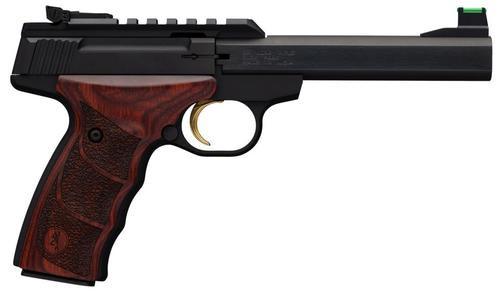 "Browning Buck Mark Plus UDX, 22LR, 5.5"", 10rd, Rosewood Ultragrip DX"