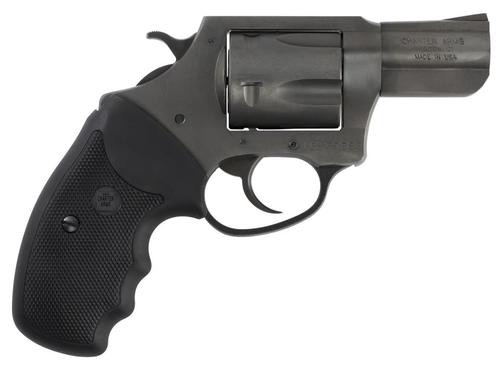 "Charter Arms Pitbull Revolver, 9mm, 2.2"" Barrel, 5rd, Black Nitride"