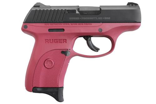 "Ruger LC9S 9mm, 3.1"", 7rd, Raspberry"