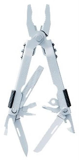 Gerber Multi-Plier 600 - Bluntnose Stainless, Carbide Insert Cutters, Sheath, Full-Size Multi-Tools